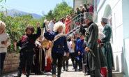 Идут съемки традиционной Хунзахской свадьбы и обряда выбора невесты