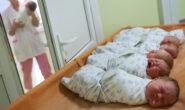 В России резко снизилась рождаемость